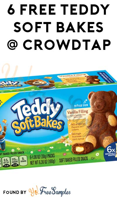 6 FREE Teddy Soft Bakes From CrowdTap For Completing Mission