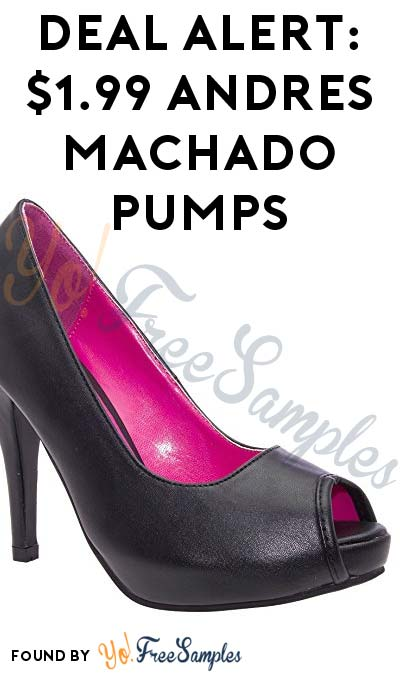 DEAL ALERT: 96%+ OFF $50 Andres Machado Pumps