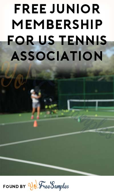 FREE 1 Year Junior Membership For US Tennis Association (Ages 10 & Under)
