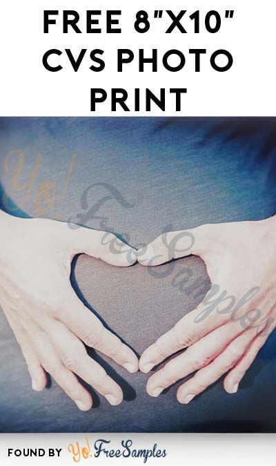 FREE 8×10 CVS Photo Print (In-Store Pick Up Required)