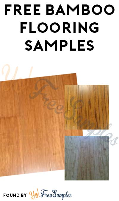 FREE Bamboo Flooring Samples (Survey Required)
