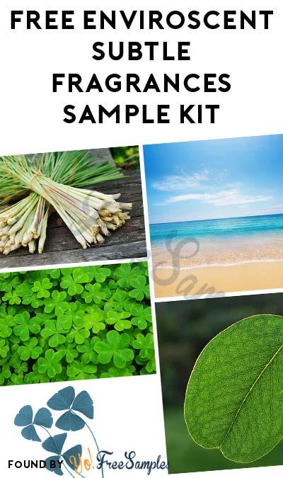 FREE Enviroscent Subtle Fragrances Sample Kit
