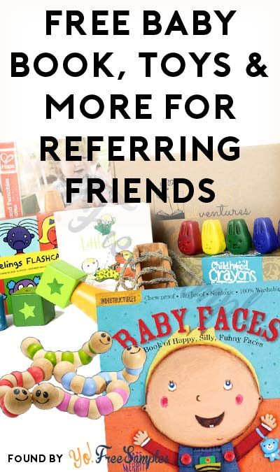 FREE First Edventures Baby Book, Toy & Box For Referring Friends