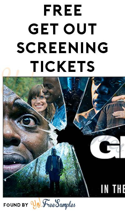 FREE Get Out Screening Tickets (Select Cities)