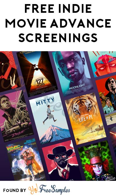 FREE Indie Movie Advance Screenings For Film Testers