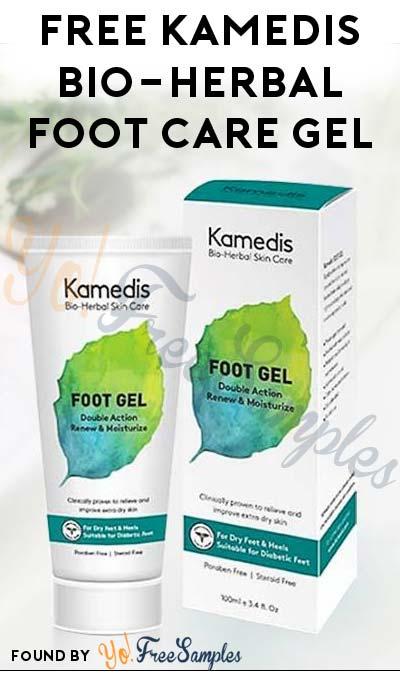 FREE Kamedis Bio-Herbal Foot Care Gel For Diabetic Or Dry Feet