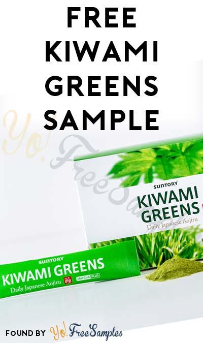 FREE Kiwami Greens Sample Packet