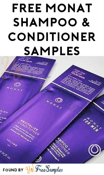 FREE MONAT Shampoo & Conditioner Samples From Kirkendall Effect