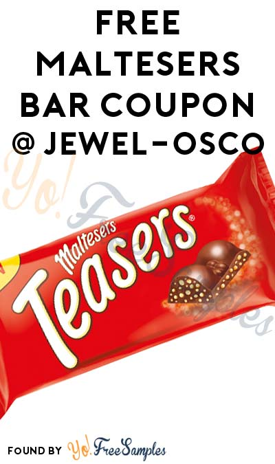 FREE Maltesers Bar Coupon At Jewel-Osco