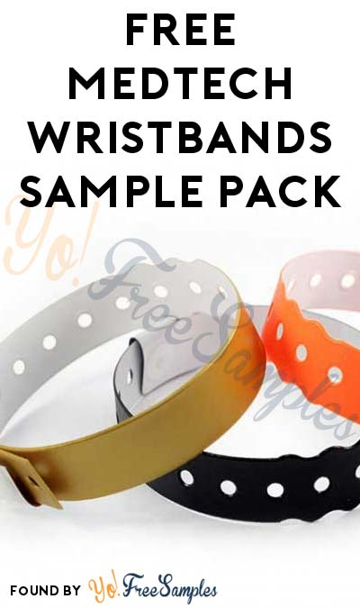 FREE MedTech Wristbands Sample Pack (Company Name Required)