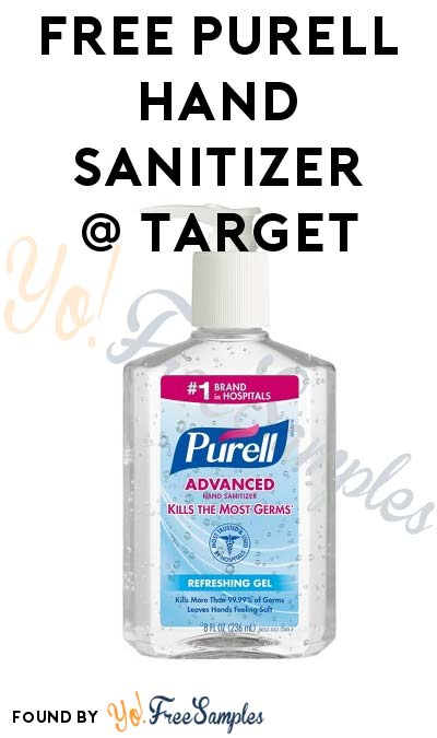 FREE Purell Hand Sanitizer At Target (Coupon, Cartwheel, Ibotta & Checkout51 Required)