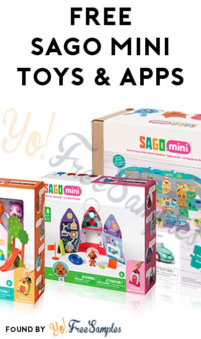 FREE SAGO Mini Toys & Apps (Must Apply To Host Tryazon Party)