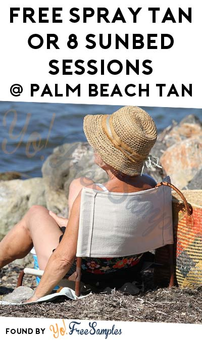 FREE Spray Tan or 8 Sunbed Sessions From Palm Beach Tan