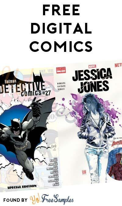 FREE Superman, Batman, Jessica Jones Comics & Many More At Comixology
