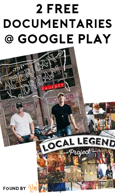 FREE The American Dream Project Season 1 & The Local Legend Project Season 1 From Google Play