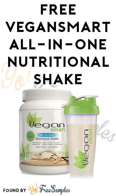 FREE VeganSmart All-In-One Nutritional Shake & Other Products From Trybe (Survey Required)