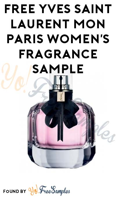 FREE Yves Saint Laurent Mon Paris Women's Fragrance Sample (Email Confirmation Required)