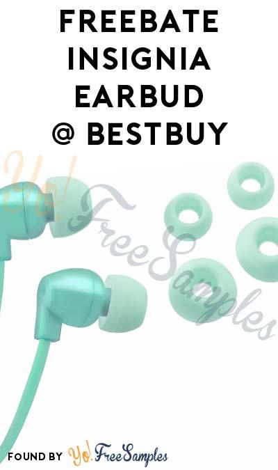 FREEBATE Insignia Stereo Earbud Headphones At BestBuy (New TopCashBack Members Only)