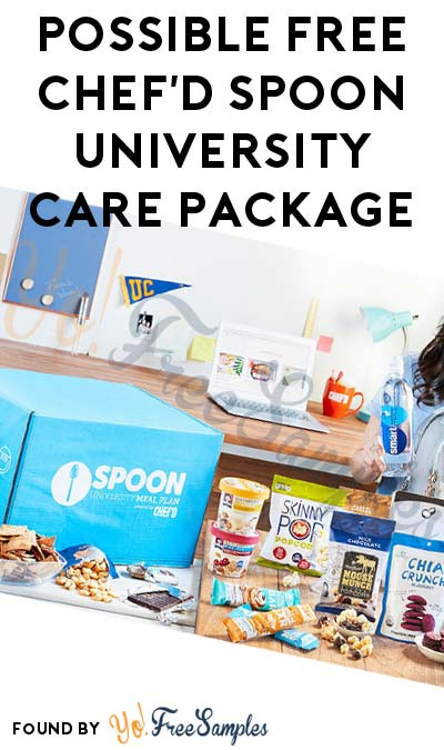Possible FREE Chef'd Spoon University Care Package ($75 Value) [Verified Received By Mail]