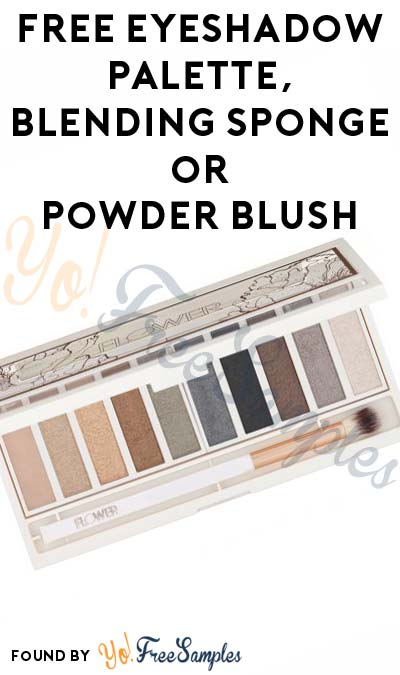 Possible FREE Eyeshadow Palette, Blending Sponge or Powder Blush From PowerReviews.com (Survey Required)