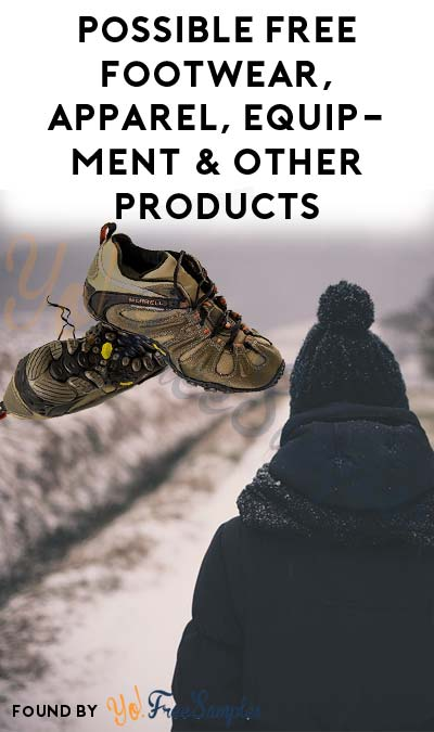 Possible FREE Footwear, Apparel, Equipment & Other Products From MESH01 Product Testing Panel