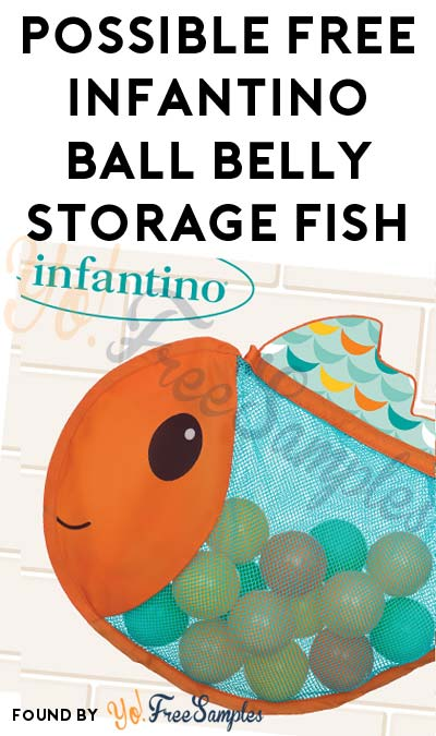 Possible FREE Infantino Ball Belly Storage Fish (Must Apply)