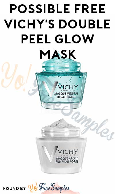 Possible FREE Vichy's Double Peel Glow Mask For Entering Vichy's Skincare Product Giveaway (Instagram Required)