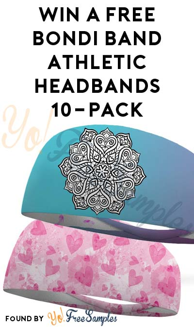 Win A FREE Bondi Band Athletic Headbands 10-Pack (Facebook Required)