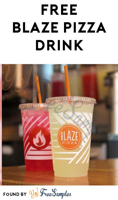 FREE Drink From Blaze Pizza For Downloading App