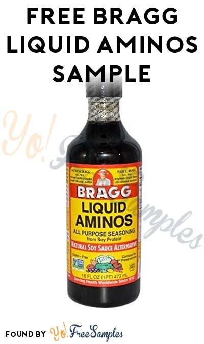 Possible FREE Bragg Liquid Aminos Sample