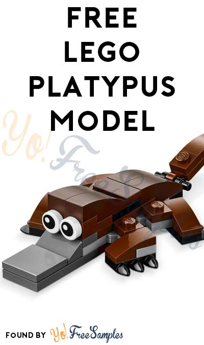 Registration Open: FREE LEGO Platypus Model From Mini Model Build Event March 7th & 8th 2017