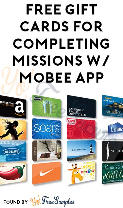 FREE Gift Cards For Completing In-Store Missions With Mobee (Mobile Phone Required) [Verified Paid]