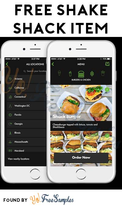 FREE Shake Shack Burger, Hot Dog or Breakfast Item Up To $5.55 For Downloading iOS App