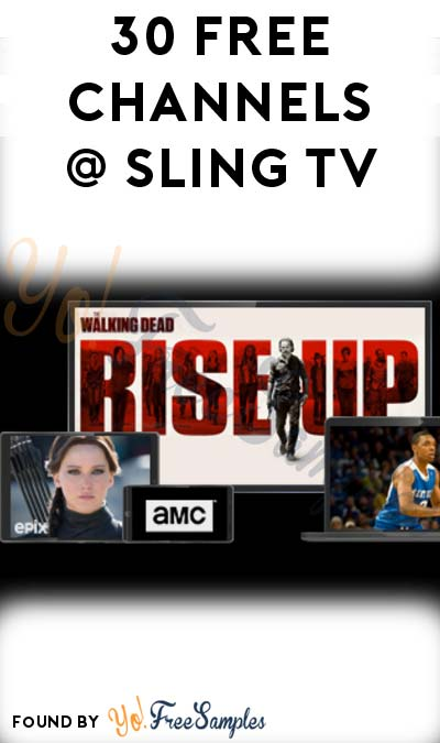 30+ FREE TV Channels With Sling TV This Weekend