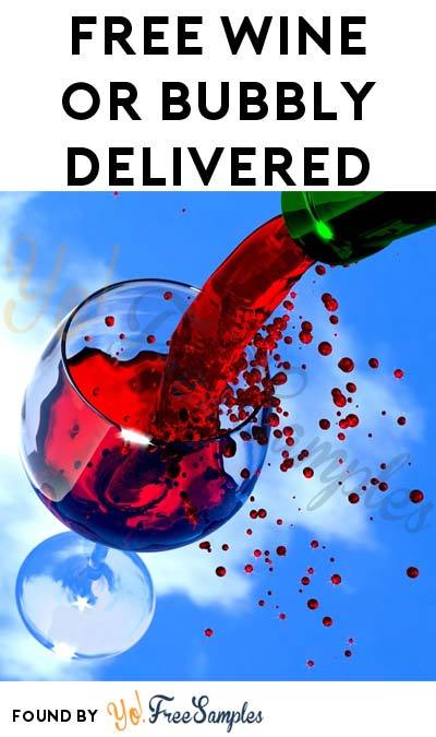 FREE Wine or Bubbly From GoFooji (21+ Only, Twitter Required, Select Areas) [Verified Received By Delivery]