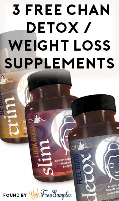 FREE Chan Cleanse, Weight Loss & Carb+Fat Blocker Supplements (Short Review Required) [Verified Received By Mail]
