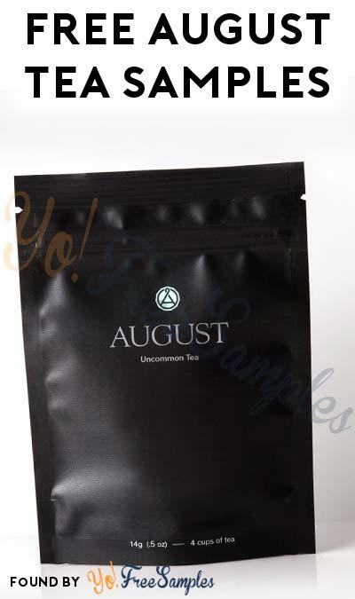 FREE August Uncommon Tea Samples