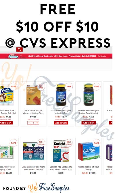 New Code: FREE $10 In Products From CVS Using Curbside Pickup (Select Areas)
