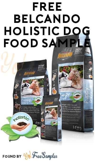 FREE BELCANDO Holistic Dog Food Sample