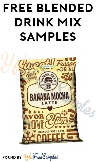 FREE Blended Drink Mix Samples (Food Service Only)