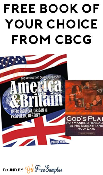 FREE Book Of Your Choice From Christian Biblical Church of God [Verified Received By Mail]