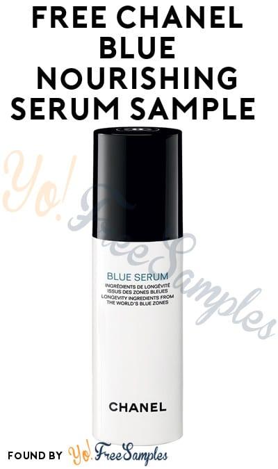 Chanel blue serum sample