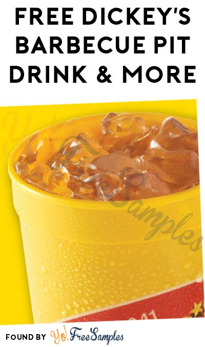 FREE Dickey's Barbecue Pit Food & Drink For Joining Rewards Program
