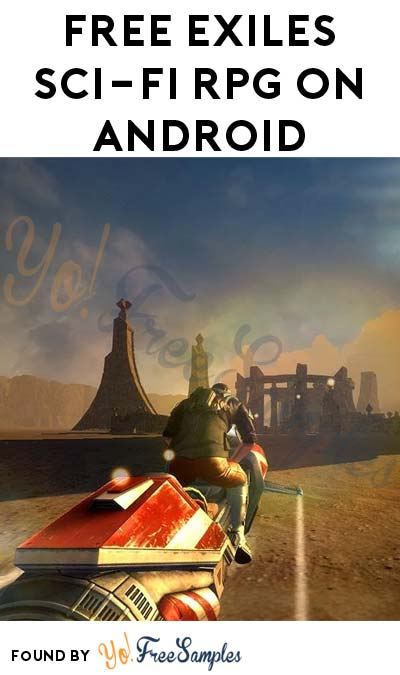 FREE EXILES Sci-Fi RPG On Android (Normally $6.99)