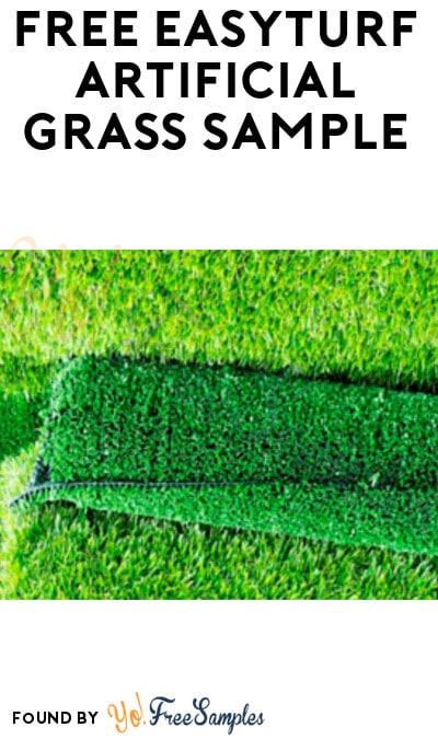 FREE EasyTurf Artificial Grass Sample