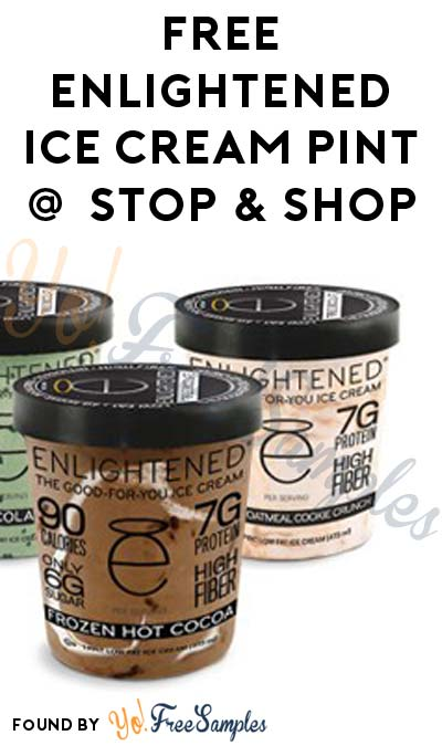 FREE Enlightened High Protein Ice Cream Pints At Stop & Shop (Account Required)