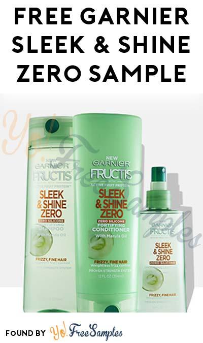 FREE Garnier Sleek & Shine Zero Shampoo & Conditioner Sample [Verified Received By Mail]