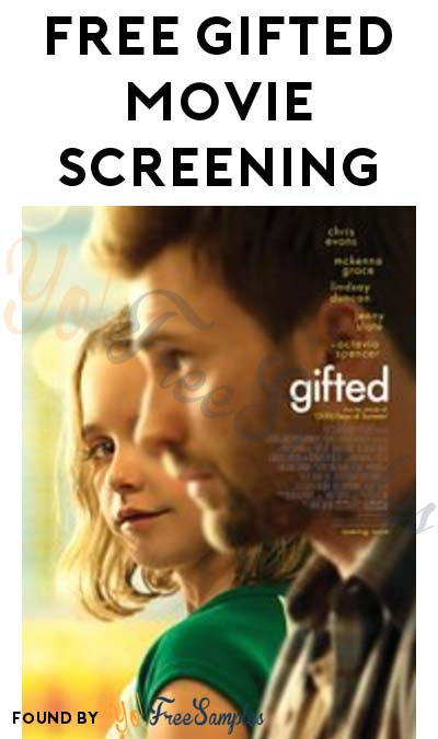 FREE Gifted Movie Screening