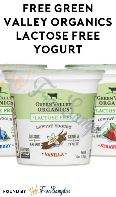 FREE Green Valley Organics Lactose Free Yogurt At Social Nature (Survey Required) [Verified Received By Mail]