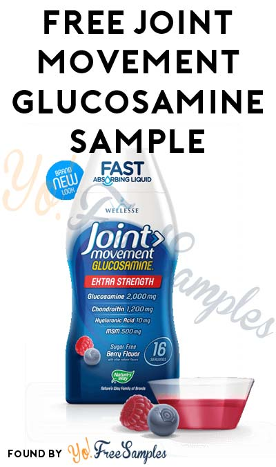 FREE Joint Movement Glucosamine Sample